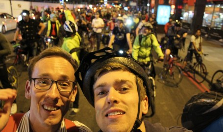 Me and Seb near the front of CM