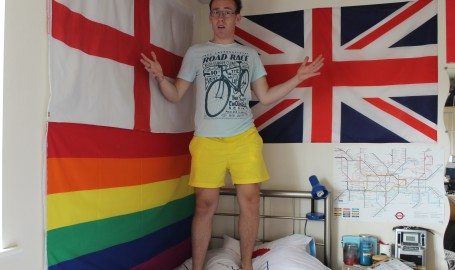 Me. How could anyone not see those shorts?