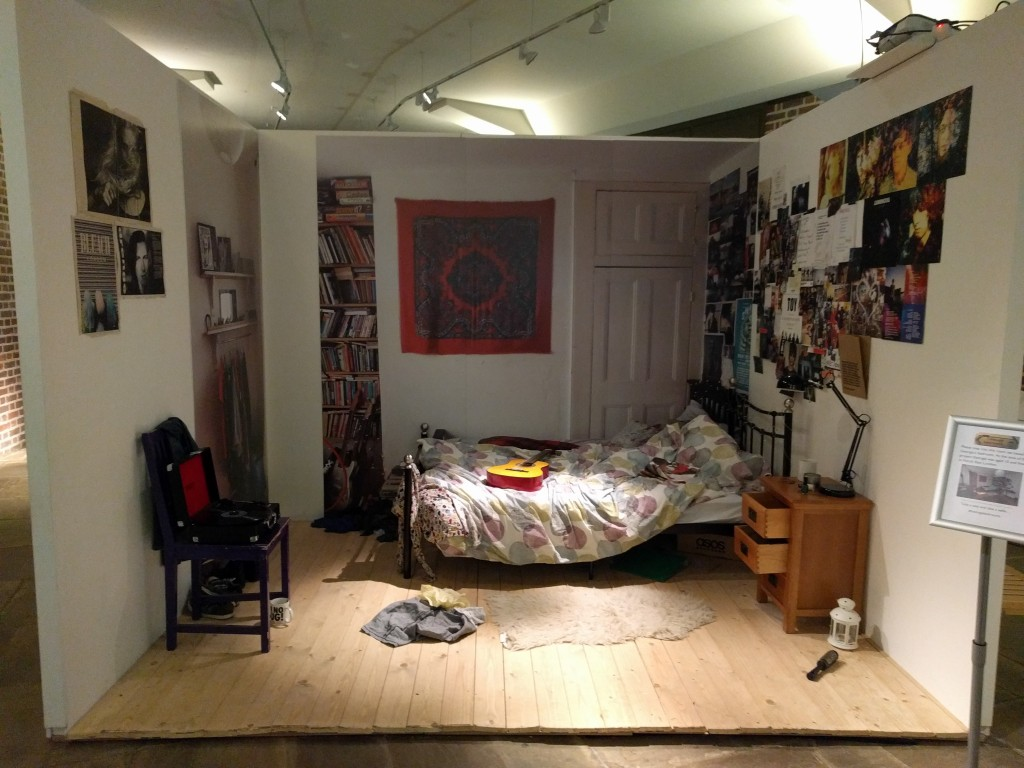 Teenage bedroom exhibition