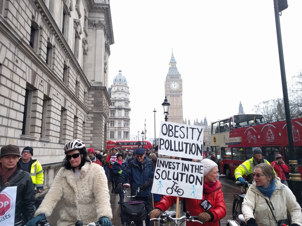 Obesity, pollution, invest in the solution!